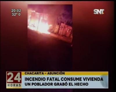 Tragedia en Chacarita: Una joven de 19 años y su hija de tres murieron en un incendio