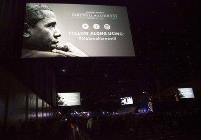 Obama se despide de la presidencia en Chicago