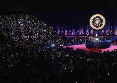 Obama afirma que el cambio sucede cuando se lo exige