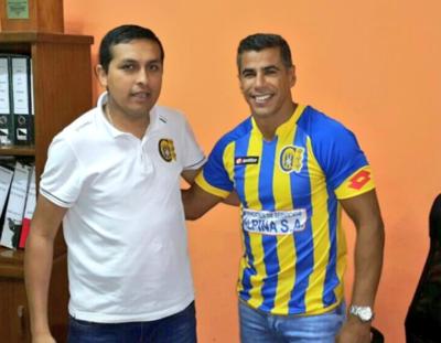 Carlos Bonet jugará en el Deportivo Capiatá