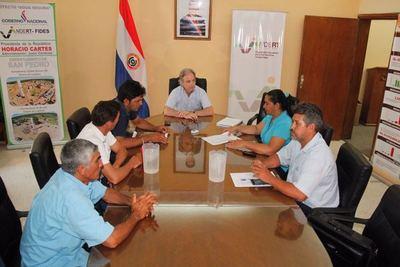 La FNC entrega al Indert el listado de las familias de Guahory