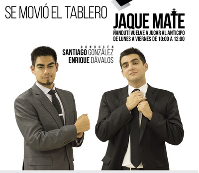 Jaque Mate con Enrique Dávalos