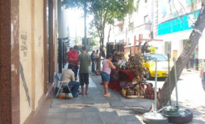 Dan 24 horas a vendedores para desalojar calle Palma
