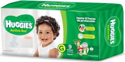 Huggies Active Sec suma a Toy Story a sus pañales
