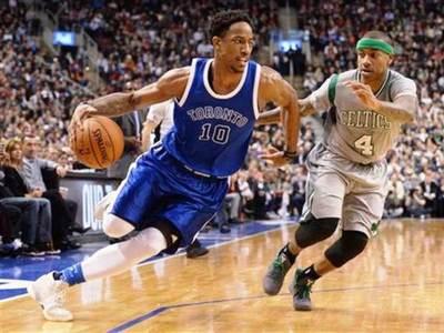 Los de Toronto se impusieron ante Celtics en la NBA