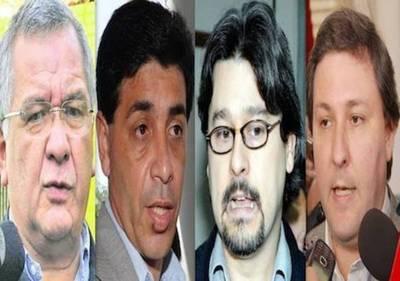 Políticos procesados por corrupción encabezan plan para juicio político a HC