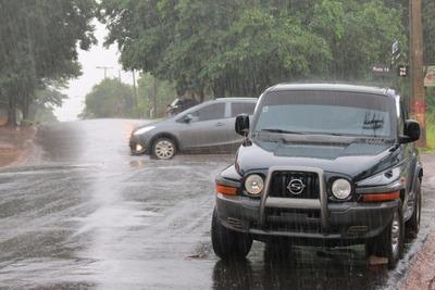 Advertencia de tormentas para once departamentos