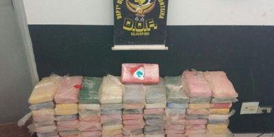 Incautan más de 100 kilos de cocaína en Brasil