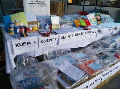 Comenzó la distribución de kits escolares