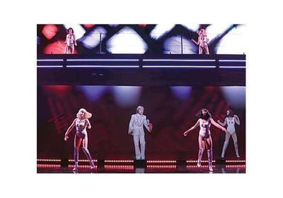 Hologramas  reviven a ídolos de la música