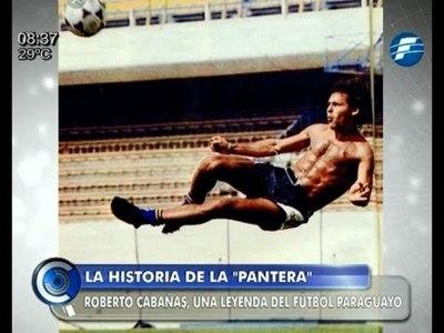 """La historia de La """"Pantera"""", una leyenda del fútbol paraguayo"""