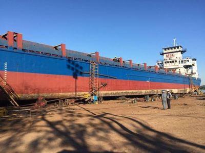 Se construyó el portacontenedor más grande de la hidrovía Paraguay-Paraná