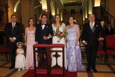 El enlace matrimonial de Stefanía y José María