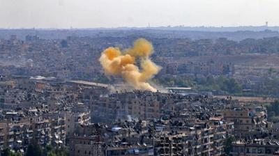 En plena tregua gobierno sirio bombardea refugio