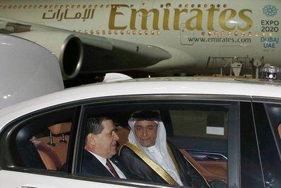 Cartes viaja a los Emiratos Árabes Unidos