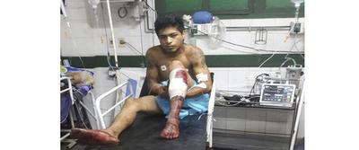 Herido por bala es detenido bajo orden de captura