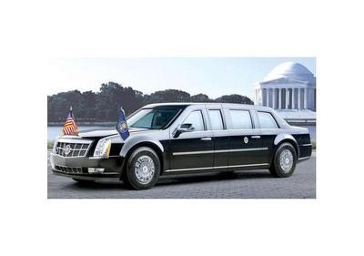 La   Bestia,  el nuevo  Cadillac que usará el presidente  Donald Trump