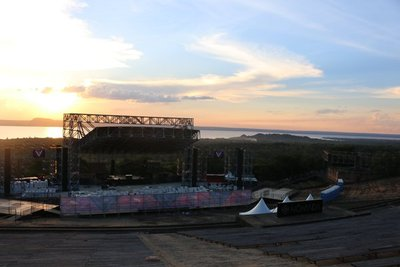 """""""Estamos emocionados con lo del anfiteatro de San Bernardino"""""""