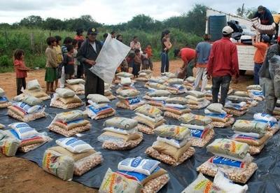 Familias indígenas del Chaco recibieron más de 3.400 kilos de alimentos no perecederos