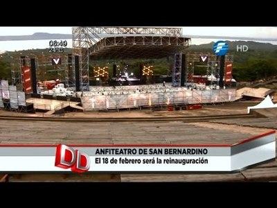 El Anfiteatro José A. Flores será reinaugurado