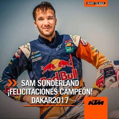 KTM, líder indiscutido del Rally Dakar