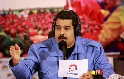 """Maduro denuncia """"campaña de odio"""" contra Trump"""