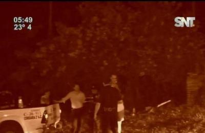 Intervención policial logra desalojo de personas desde predio en Fernando de la Mora