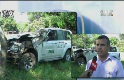 Tremendo accidente de ambulancia deja una persona muerta