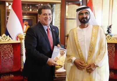 En Dubái Cartes y empresarios hablan de negocios