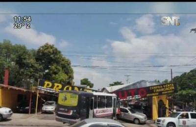 Violento accidente en la zona del barrio San Pablo