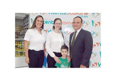 Vicente Scavone premió a sus clientes