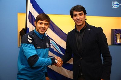 Óscar Romero se incorpora al Deportivo Alavés