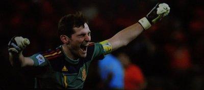 Para Iker Casillas, Paraguay fue el rival más difícil de Sudáfrica 2010