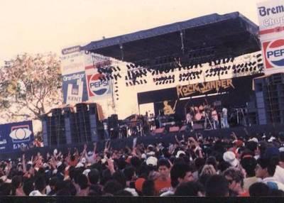 El día que Mario presentó la 'furia' del rock en Sanber del 88