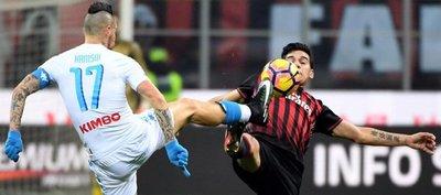 Napoli da muestra de poder y vence al Milan de Gómez