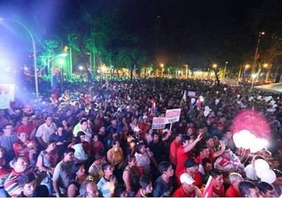 """""""En esta caravana no había muertos, sino gente que pide reelección de Cartes"""""""