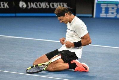 Nadal vuelve a semis de un Grand Slam casi tres años después