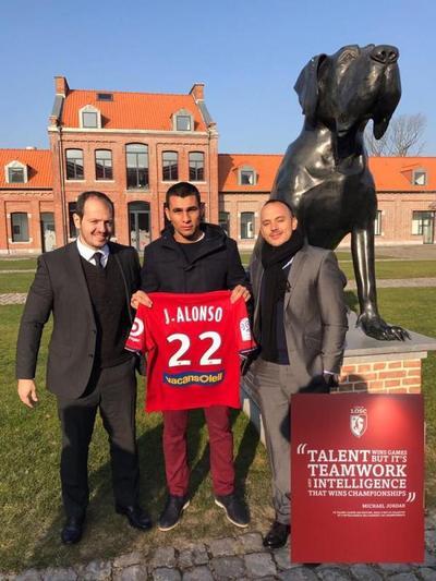 La 22 del Lille LOSC francés para Junior Alonso