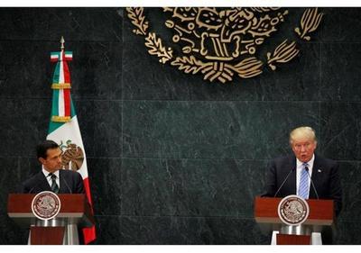 Trump amenaza con cancelar la cita con Peña Nieto si no hay voluntad de pagar el muro