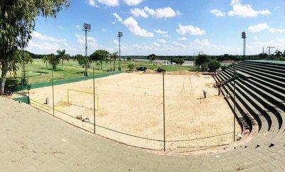 Va tomando forma estadio del Yacht y Golf Club Paraguayo