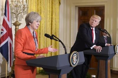 """D. Trump aplaude alianza con Londres y """"maravilloso"""" Brexit"""