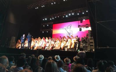 Caazapá vibró con el Festival del Ykua Bolaños 2017