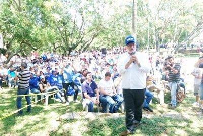 Lugo continúa con abierta campaña de proselitismo