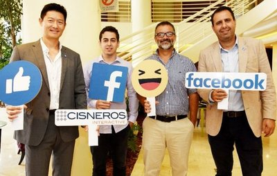 Facebook abre su oficina en busca de más inversiones