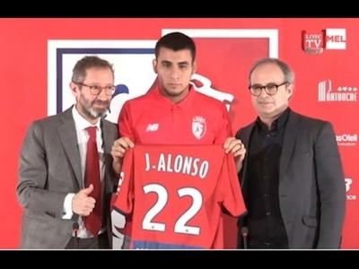Alonso promete mucha garra para Lille