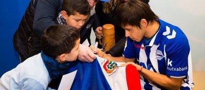 Óscar Romero y sus primeras palabras tras debut en Copa del Rey