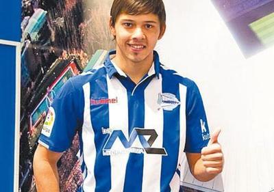 El  Mellizo  Romero debutó con el  Alavés