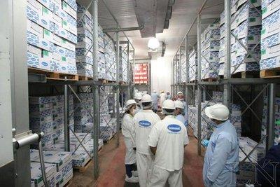 Instalaciones de frigorífico que captó mercados europeos