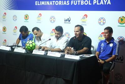 En Conferencia de Prensa dieron detalles de las Eliminatorias de Playa