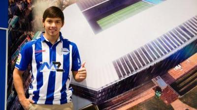 Romero debutó con una asistencia en La Liga